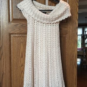 Bebe sweater dress.